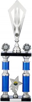 24.25inchBLUE TUBE TROPHY T/105
