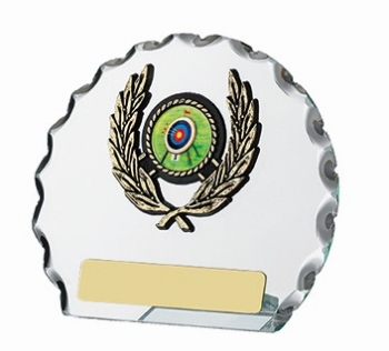 4.5inchGLASS ROUND AWARD