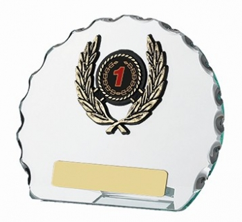 4.75inchGLASS ROUND AWARD