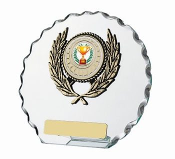 5.75inchGLASS ROUND AWARD