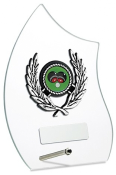 6.75inchGLASS AWARD