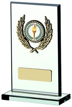 5.25inchGLASS PLAQUE AWARD