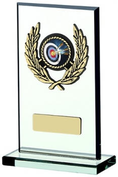6inchGLASS PLAQUE AWARD