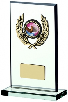 6.75inchGLASS PLAQUE AWARD
