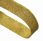 GLITTER GOLD 22MM  RIBBON