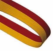 RED YELLOW 22MM RIBBON