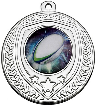 50mm SILVER SHIELD MEDAL