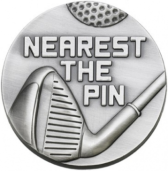60mm NEAREST THE PIN MEDAL