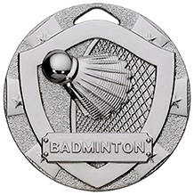 2inchMINISHIELD MEDAL BADMINTON