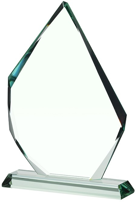 8.75inch JADE GLASS AWARD