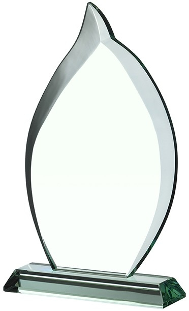 7inch JADE GLASS AWARD