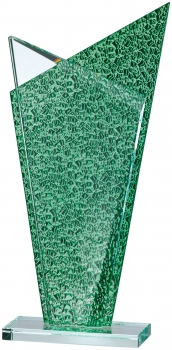 10.1/2inch GREEN CLEAR GLASS