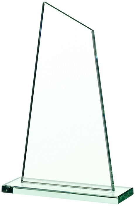 9.5inchGLASS PLAQUE AWARD