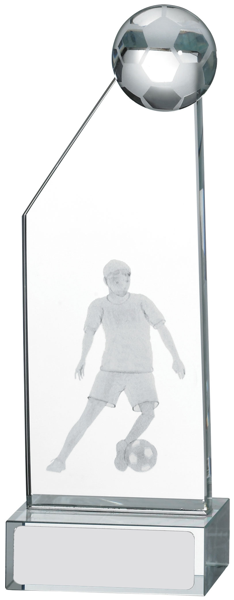 125MM ENGRAVED FOOTBALL GLASS T/31        30/case