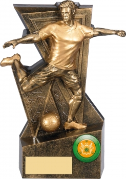 6.25inch GOLD LEGACY FOOTBALL TROPHY