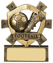 3 1/8inchFOOTBALL MINI SHIELD