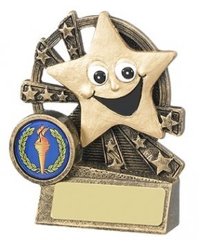 3.5inchSMILEY STAR AWARD