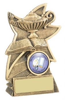 5.25inchLAMP OF KNOWLEDGE AWARD
