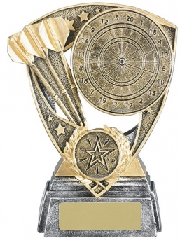 5.25inchDARTBOARD AND DARTS AWARD