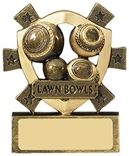 3 1/8inchLAWN BOWLS MINI SHIELD