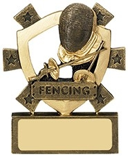 3 1/8inchFENCING MINI SHIELD