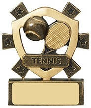 3 1/8inchTENNIS MINI SHIELD
