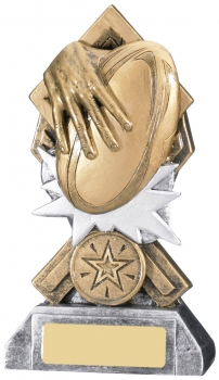 5.75inch DIAMOND EXTREME RUGBY AWARD