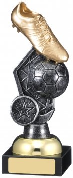 7inch FOOTBALL BOOT BALL TROPHY