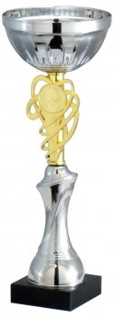 14.5inchCUP TROPHY GOLD SILVER C/89