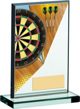 5.25inch DARTS ACRYLIC GLASS AWARD