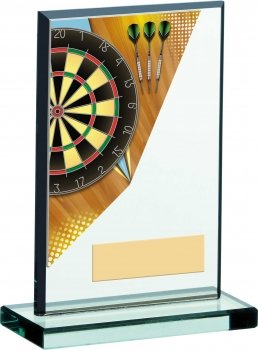 6inch DARTS ACRYLIC GLASS AWARD