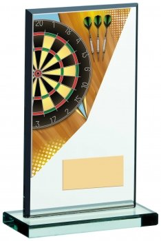 6.75inch DARTS ACRYLIC GLASS AWARD