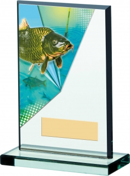 6inch FISHING ACRYLIC AWARD T/89