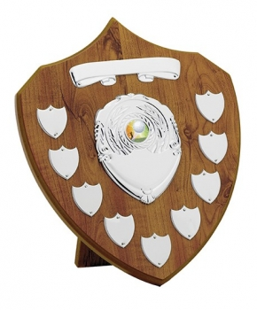 12inchMAPLE 9 YEAR PRESENTATION SHIELD