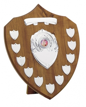 14inchMAPLE 11 YEAR PRESENTATION SHIELD