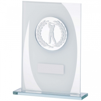 5.75inchMALE GOLF GLASS AWARD T/175