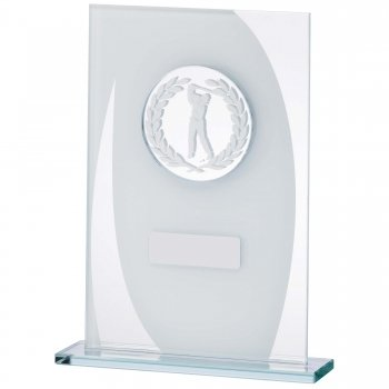 6.5inchMALE GOLF GLASS AWARD T/175