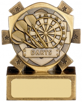 3inch MINI STAR DARTS AWARD