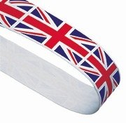 UNION JACK PRINTED 22MM RIBBON