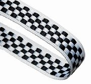 CHEQUERED 22MM  RIBBON