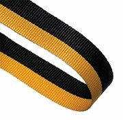BLACK YELLOW 22MM RIBBON