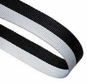 BLACK WHITE 22MM RIBBON