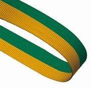 YELLOW GREEN 22MM RIBBON