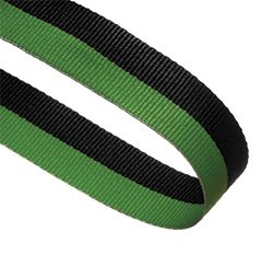 GREEN BLACK 22MM RIBBON