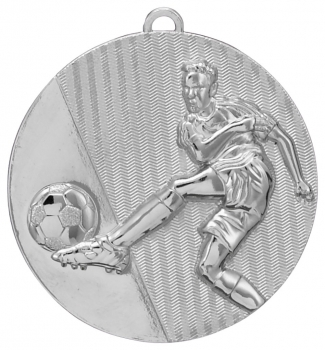 50MM SILVER FOOTBALL MEDAL T/27/139