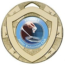 50mm MINI SHIELD MEDAL