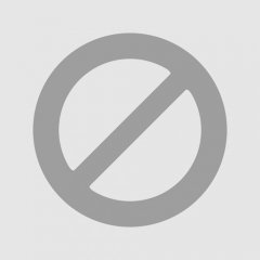 10.75inch BLUE STAR GLASS