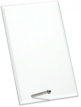 6inchGLASS RECTANGULAR AWARD