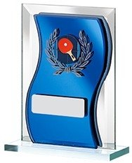 5inchGLASS MIRRORED AWARD