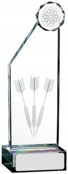 7inch EDGE DARTS GLASS